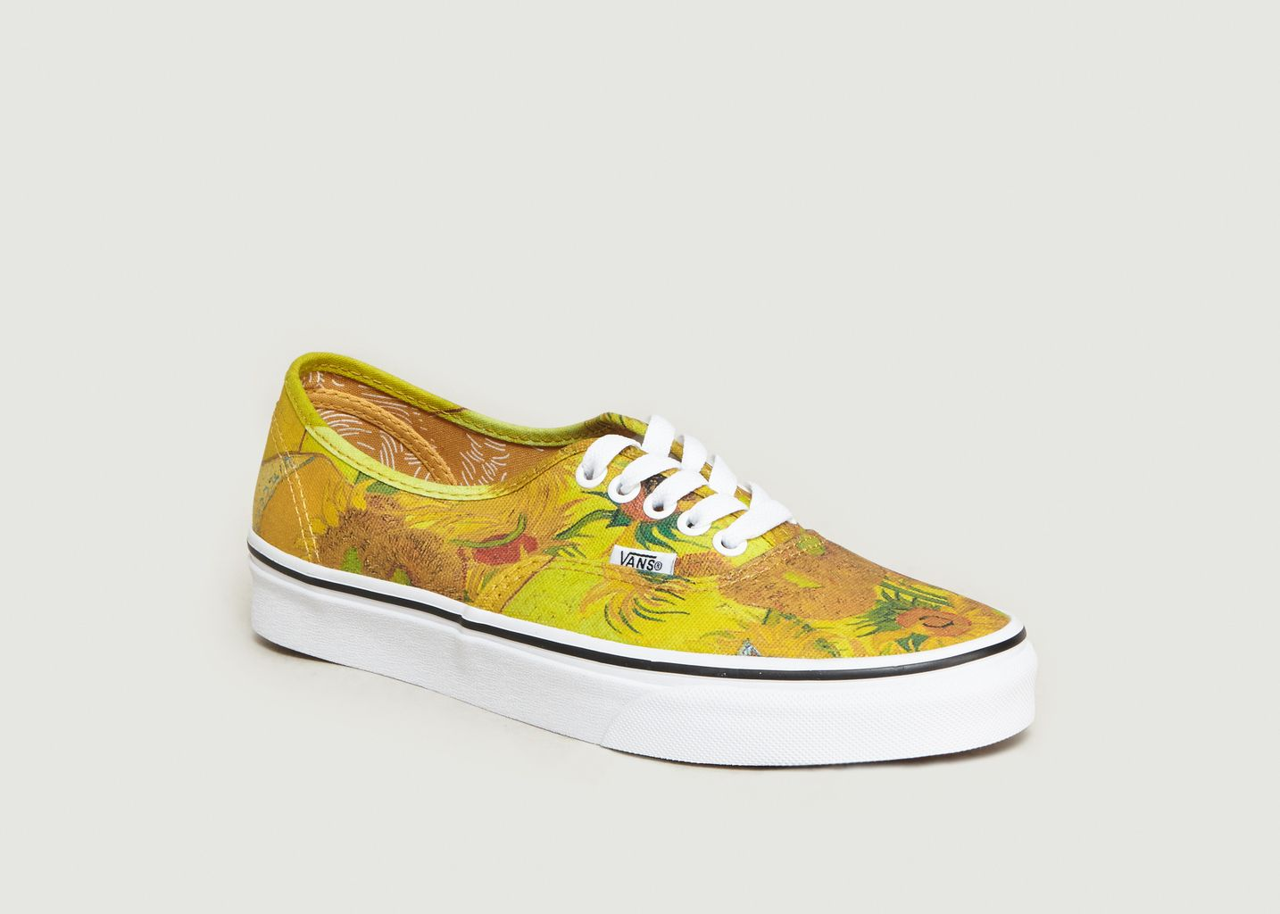 c8a34ab13304 Authentic x Van Gogh Skate Shoes Yellow Vans