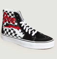 Bowie SK8 Hi Trainers