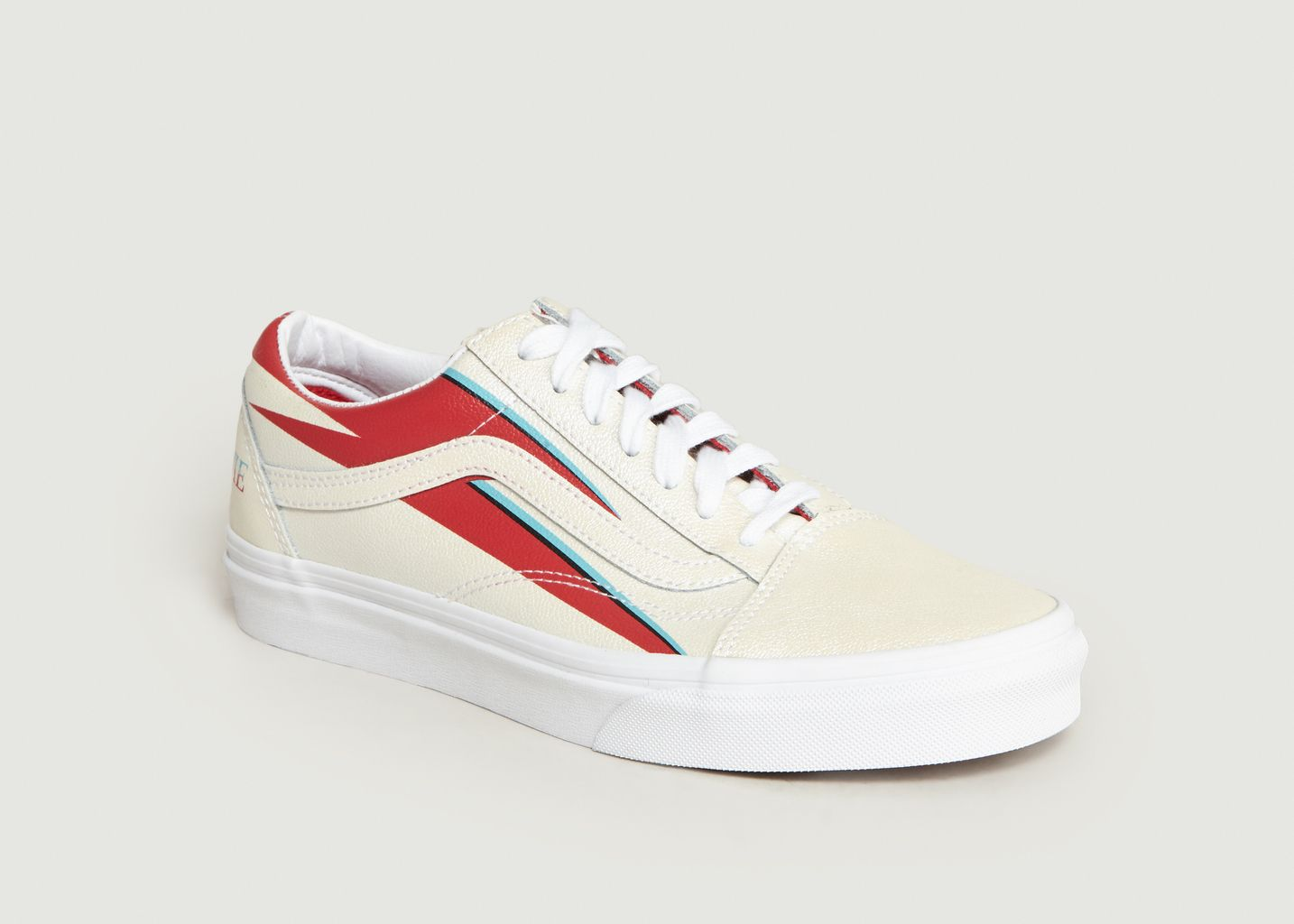 c78154e1e1f3 Old Skool Bowie Trainers White Vans