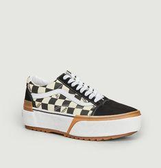 Stacked sneakers Vans