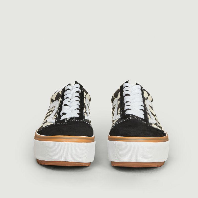 Sneakers Checkerboard Old Skool Stacked - Vans