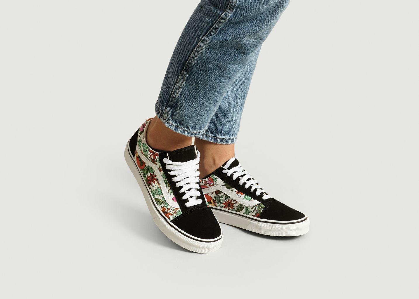 Sneakers Old Skool imprimé tropical - Vans