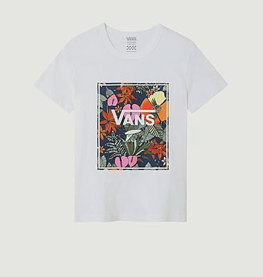 T-shirt Vans cropped tropical