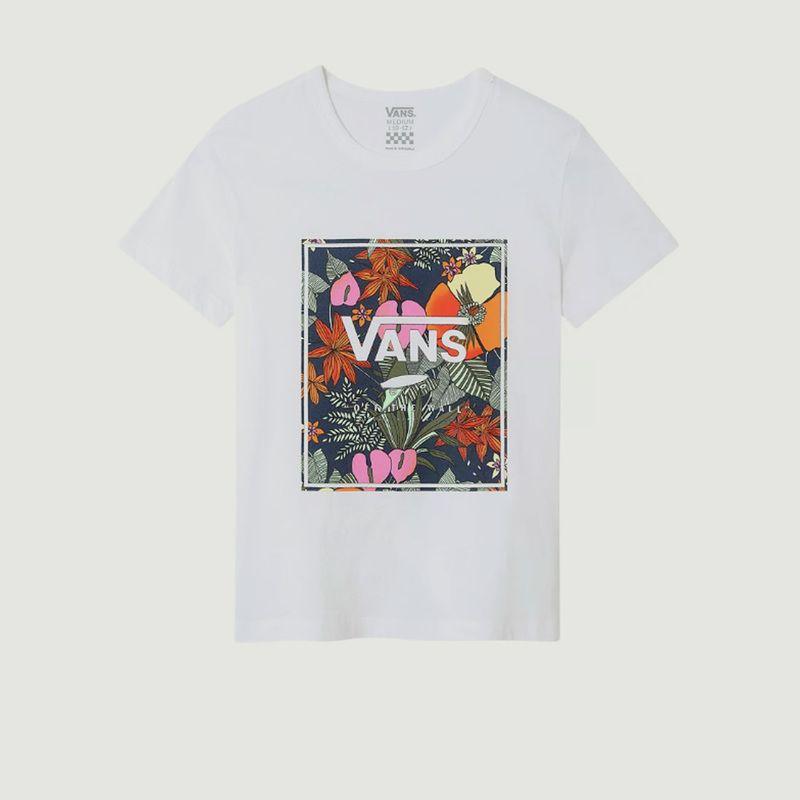T-shirt Enfant cropped tropical - Vans