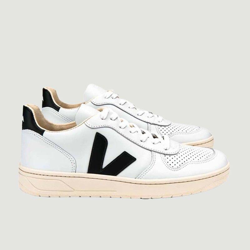 Sneakers V-10 en cuir  - Veja