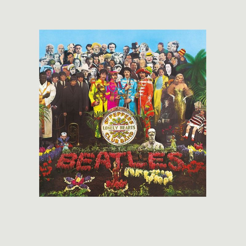 Sgt. Pepper's Lonely Hearts Club Band - The Beatles - La vinyl-thèque idéale
