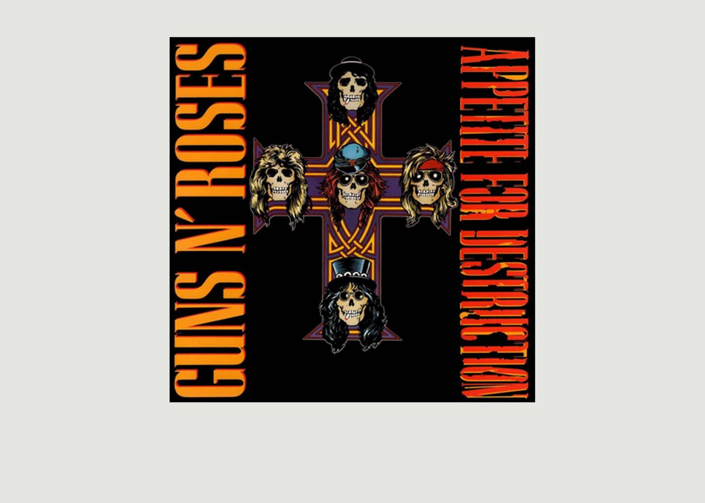 Appetite For Destruction - Guns n' Roses - La vinyl-thèque idéale