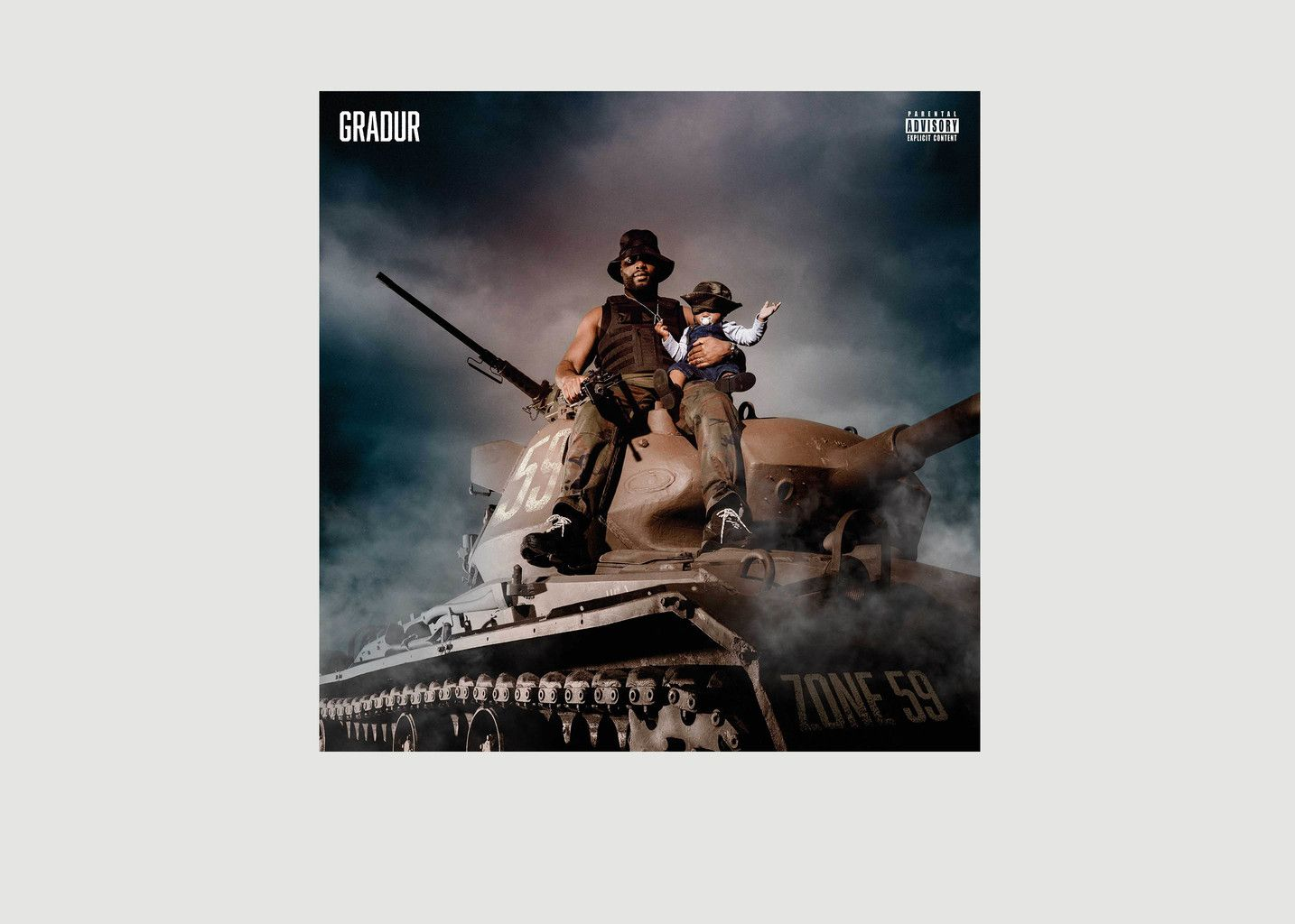 Zone 59 - Gradur - La vinyl-thèque idéale
