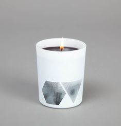 Tar Vetiver candle