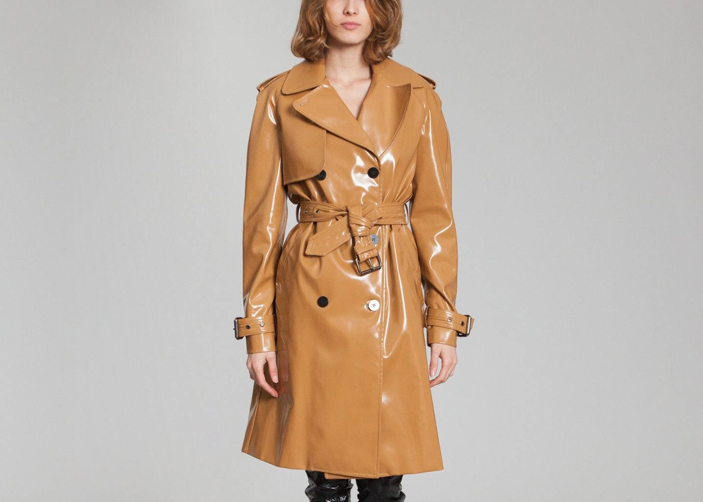 Caramel Trench Trench L'exception L'exception Wanda Nylon Caramel Wanda Nylon Trench q0Sxz7n