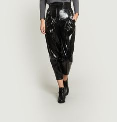 Pantalon Fuselé Taille Haute