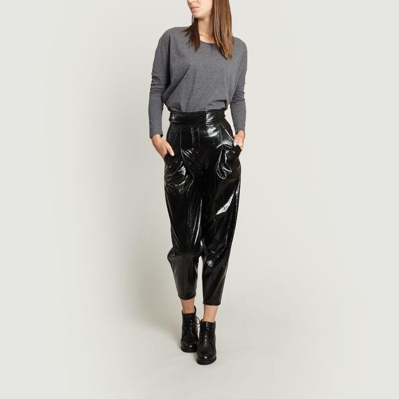 Pantalon Fuselé Taille Haute - Wanda Nylon