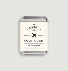 Carry On Cocktail Kit Old Fashioned