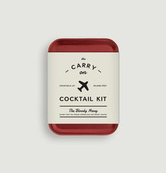 The Bloody Mary Carry On Kit