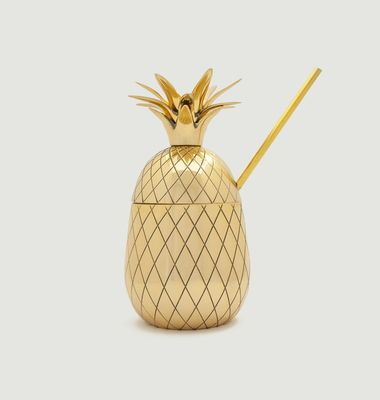 Large Pineapple Tumbler