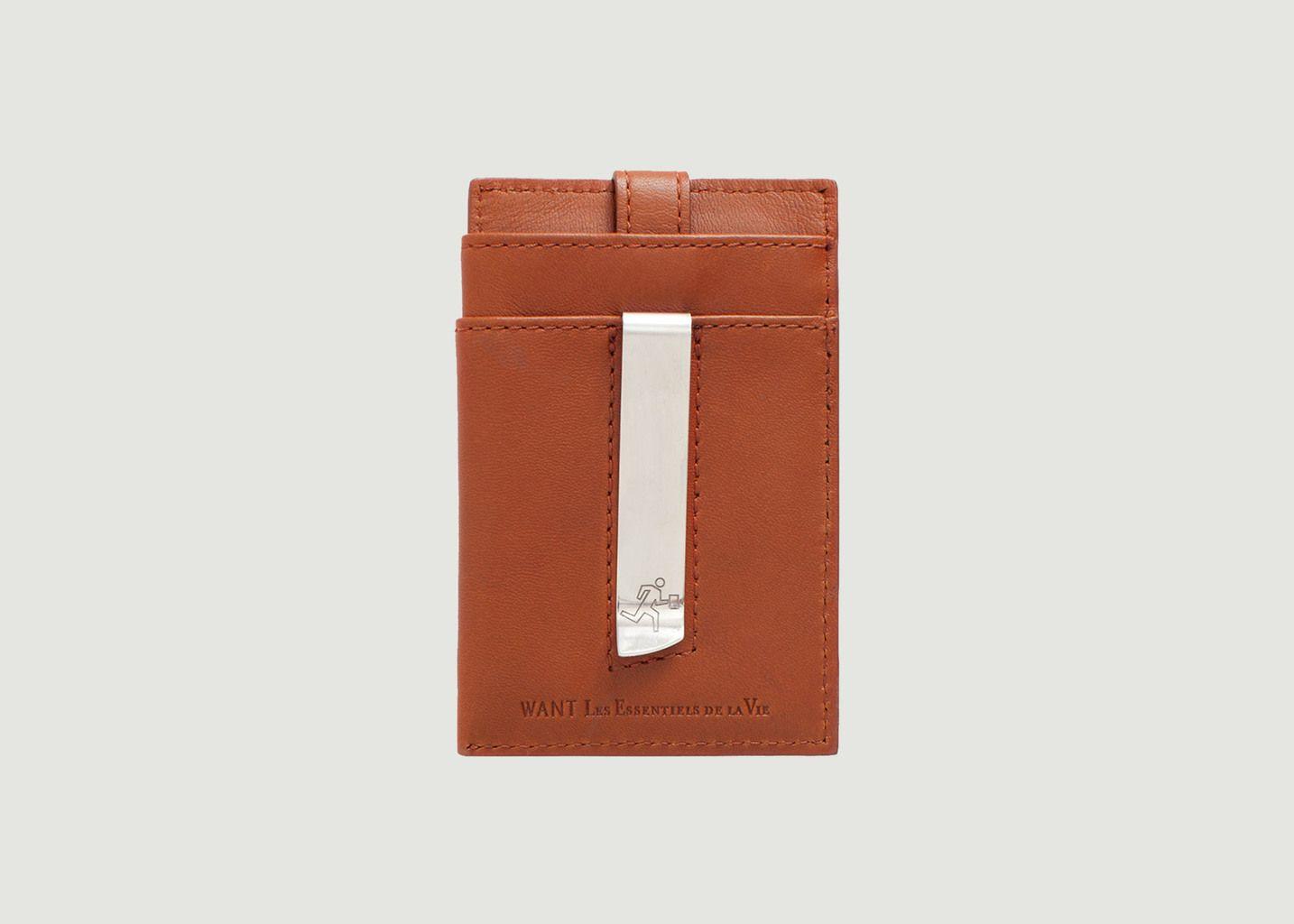 Kennedy Money Clip Wallet  - Want Les Essentiels