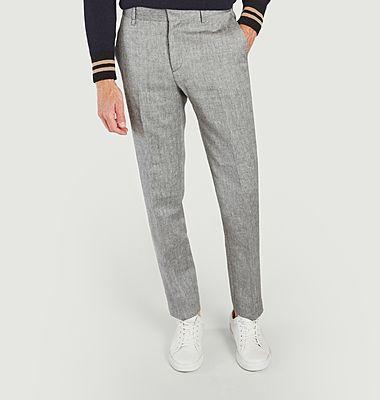 Pantalon ALP gris en laine
