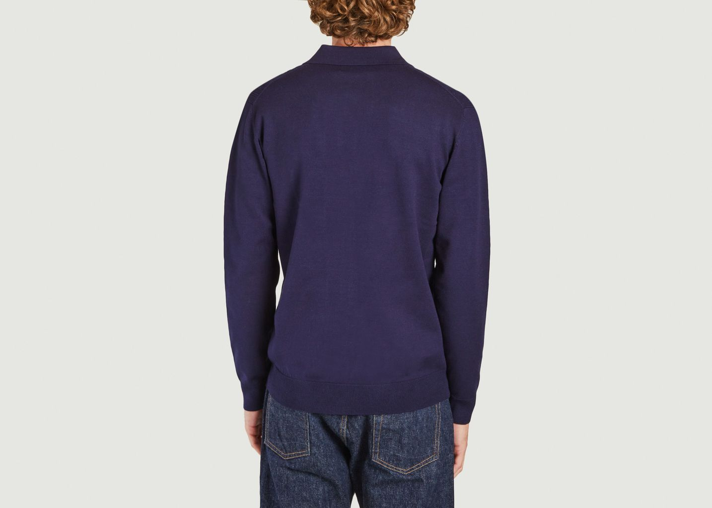 Polo Oban à manches longues - Wax London