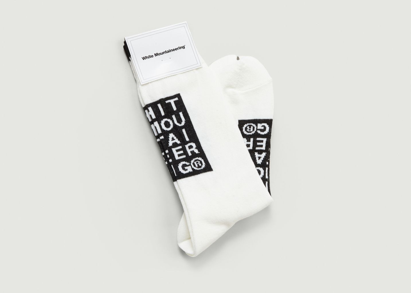 Chaussettes Logotypées - White Mountaineering