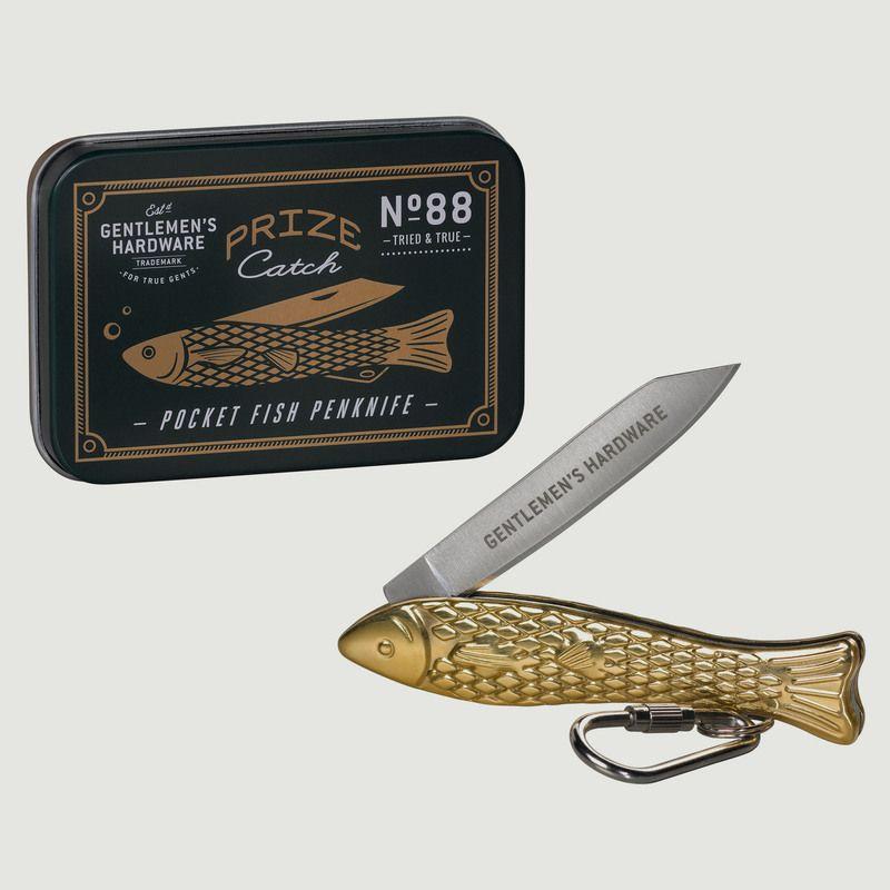 Couteau de poche poisson - Wild & Wolf