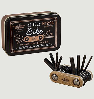 Outil multifonctions de poche pour vélo