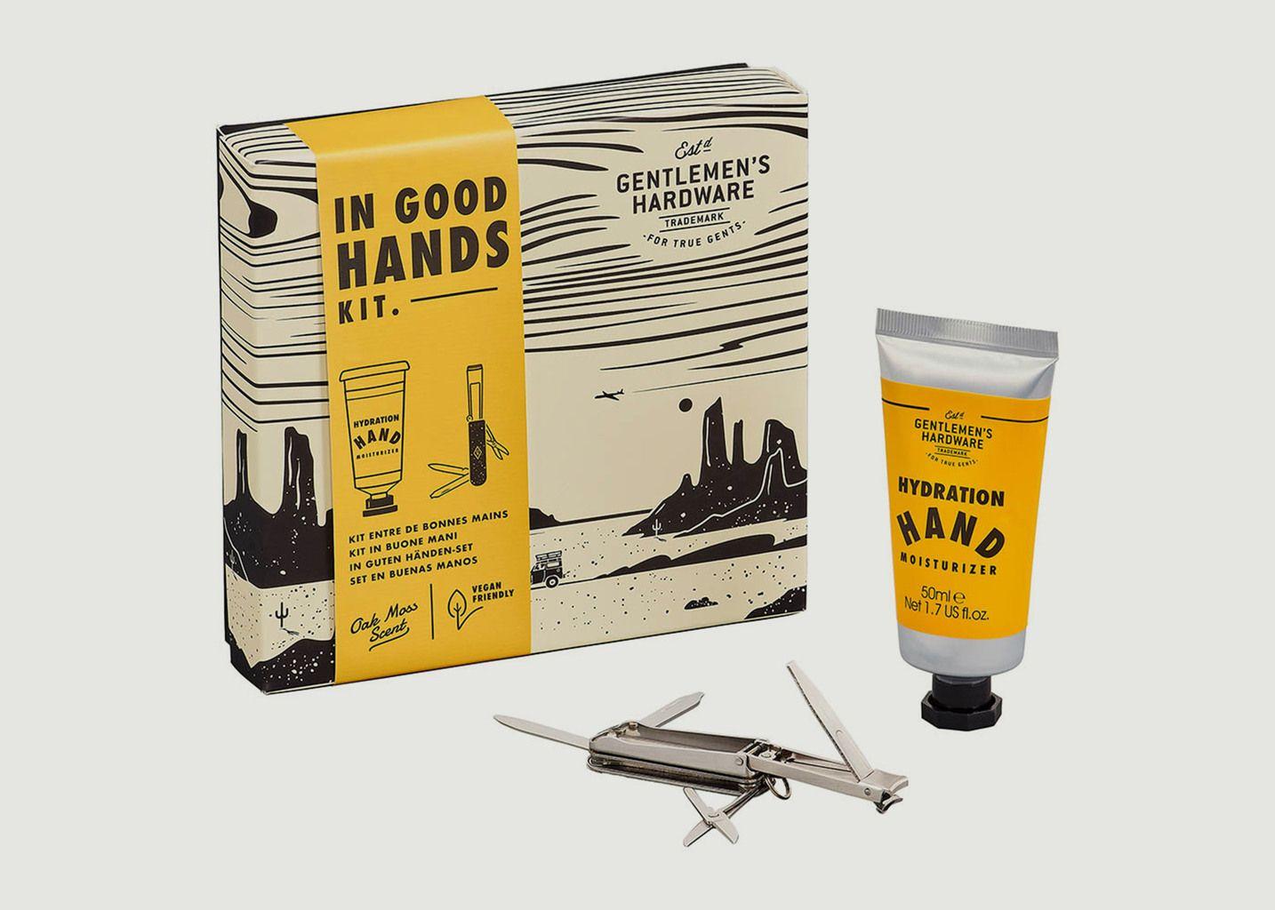 Kit de soins des mains - Entre de bonnes mains - Wild & Wolf