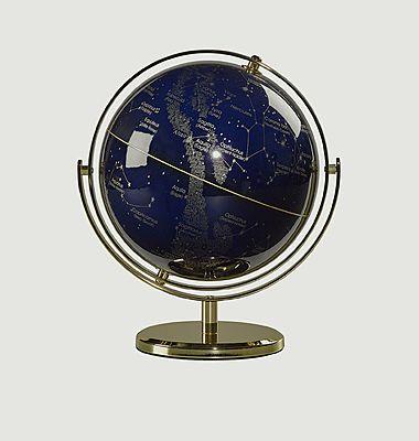 8 inch Wild Wood Night Sky globe