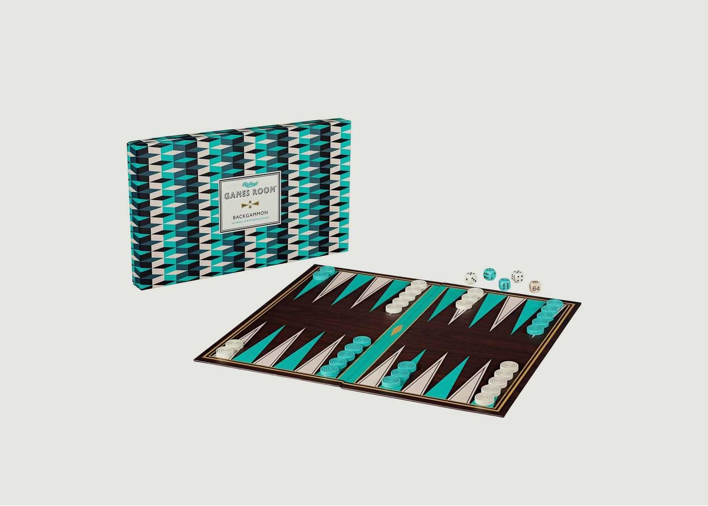Jeu du Backgammon - Wild & Wolf