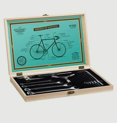 Bicycle Tool Kit Wooden Box