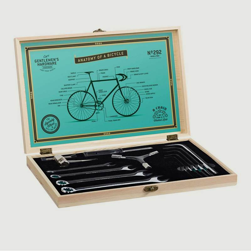 Bicycle Tool Kit Wooden Box - Wild & Wolf