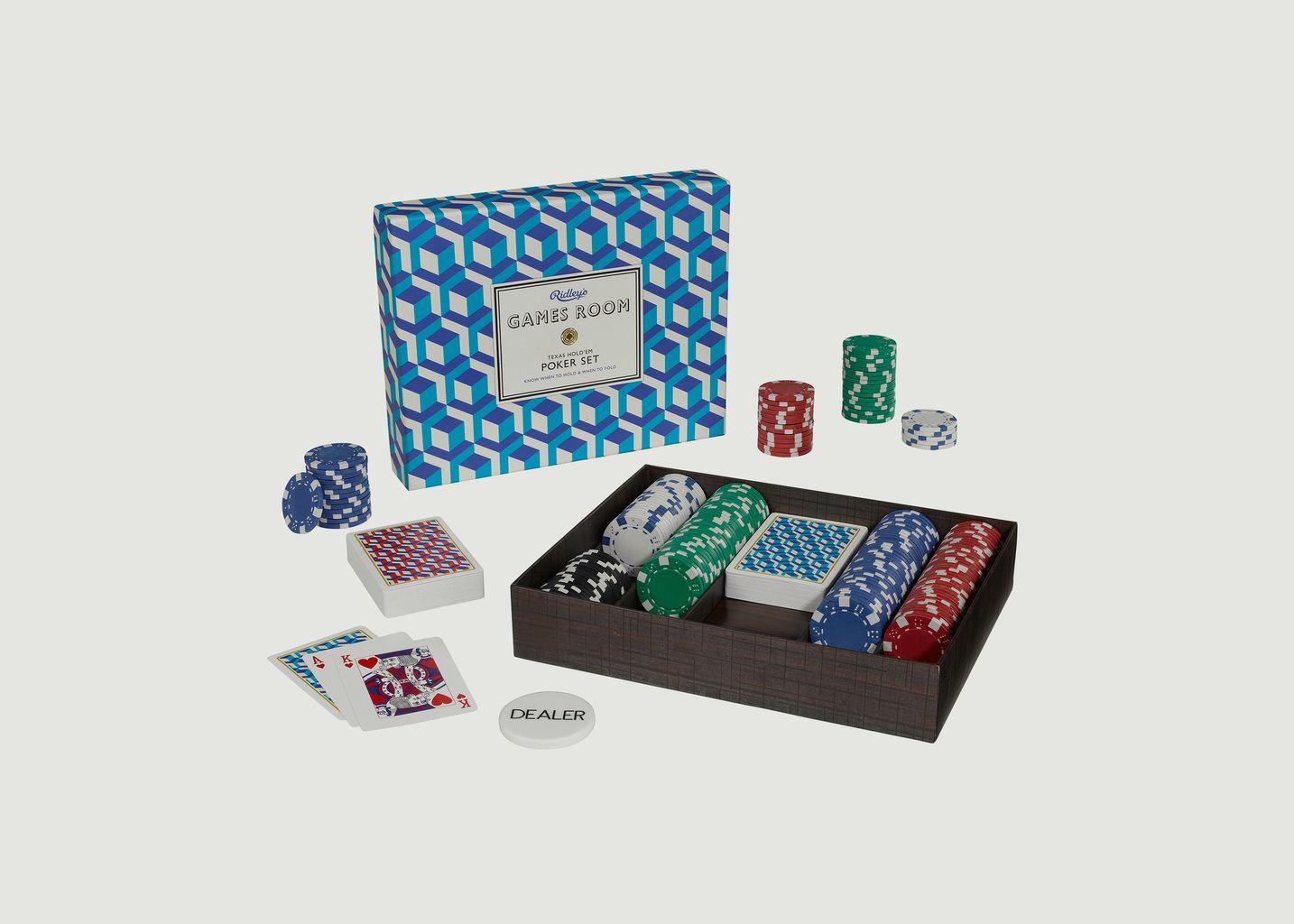 Poker Set Ridley's - Wild & Wolf