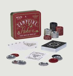 Kit de Poker Feu de Camp
