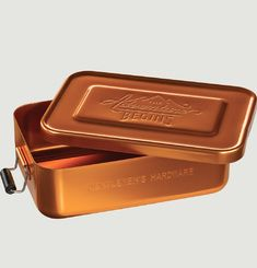 Copper-Look Aluminium Canteen