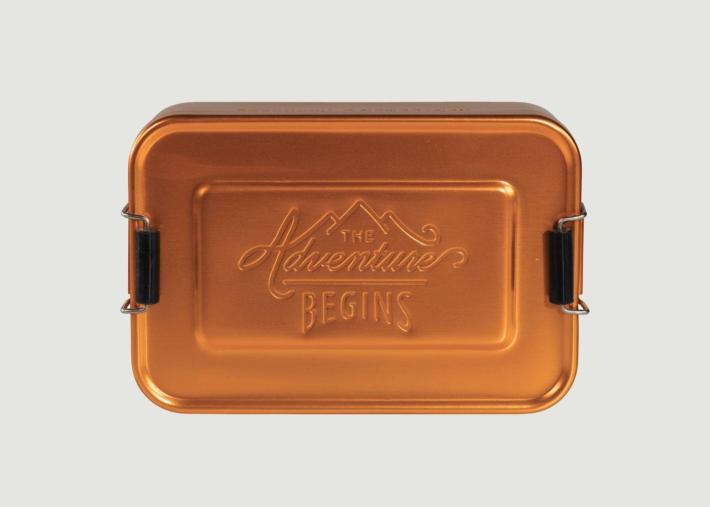 Boîte à Déjeuner en Aluminium Aspect Cuivré - Wild & Wolf