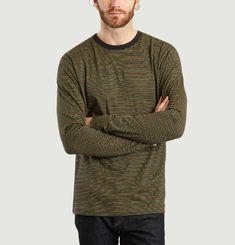 T-Shirt Rayé Manches Longues Viggo