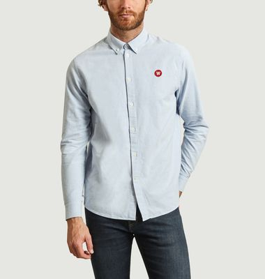 Chemise en coton Oxford Double A Ted