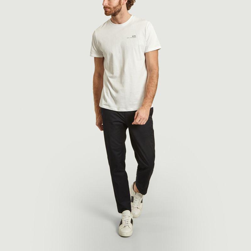 Pantalon cropped slim fit Tristan  - Wood Wood