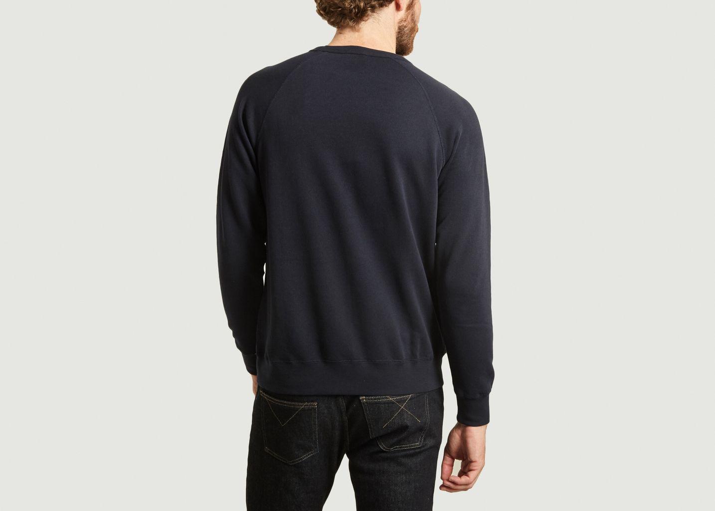 Sweatshirt en coton bio Hester - Wood Wood