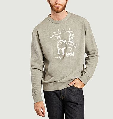 Sweatshirt Hugo imprimé Mickey Wood Wood x Disney