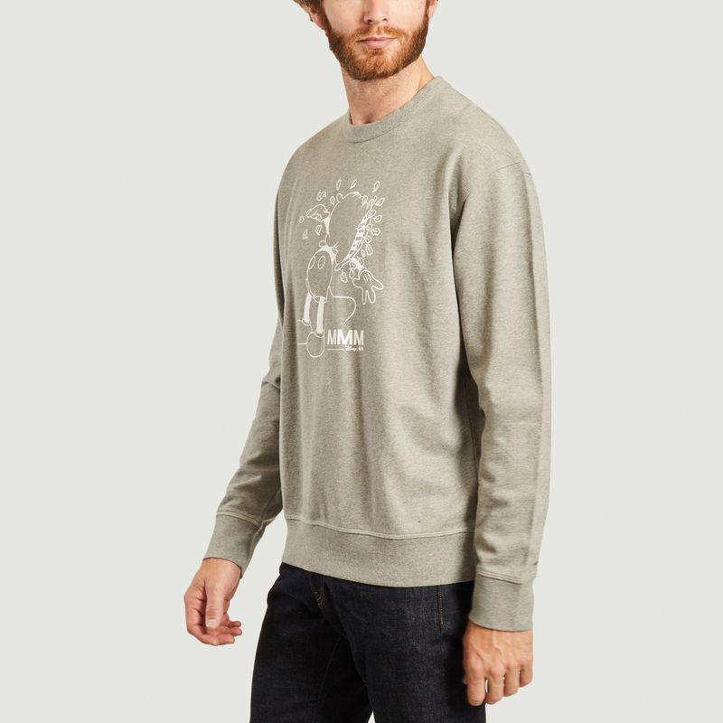 Sweatshirt Hugo imprimé Mickey Wood Wood x Disney - Wood Wood