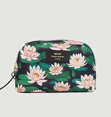 Water Lilies Toiletry Case