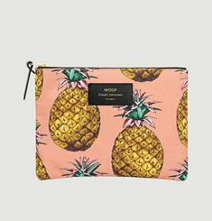 Pineapple Large Pouch