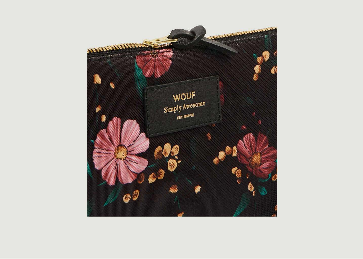 Large Pochette Flowers - Wouf