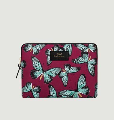 Housse iPad Papillon