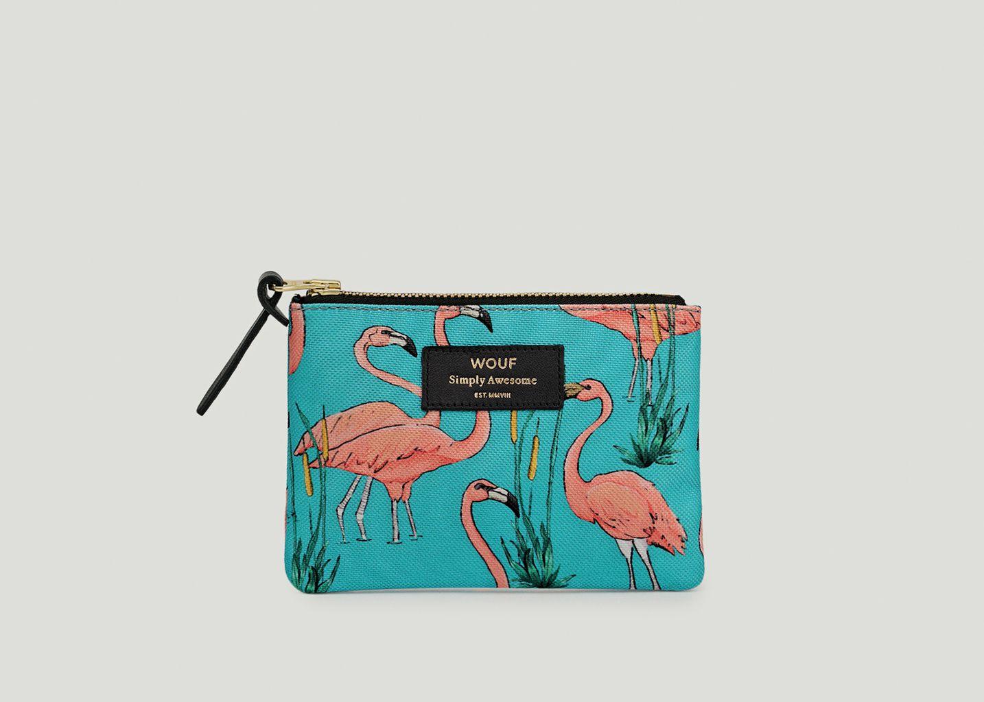 Petite Pochette Flamingos - Wouf