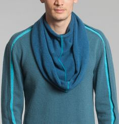 Contrasted Line Snood
