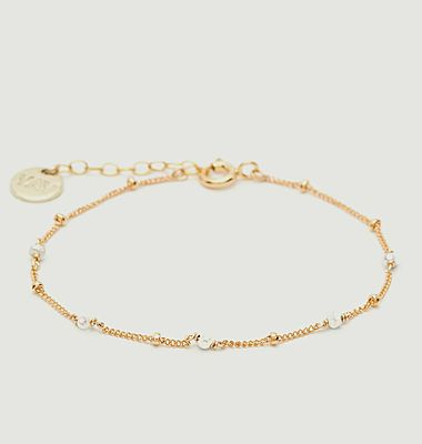 Bracelet gold filled perles de culture Satellite