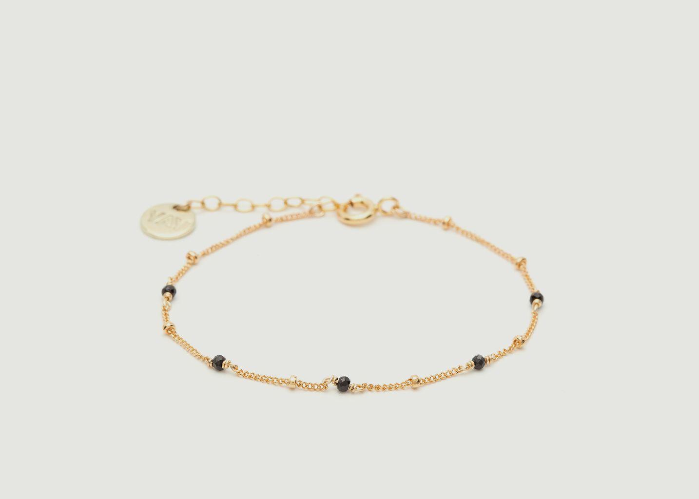 Bracelet gold filled avec pierres facettées Satellite - YAY