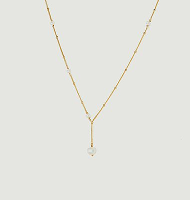 Collier gold filled perles de culture Vice Versa