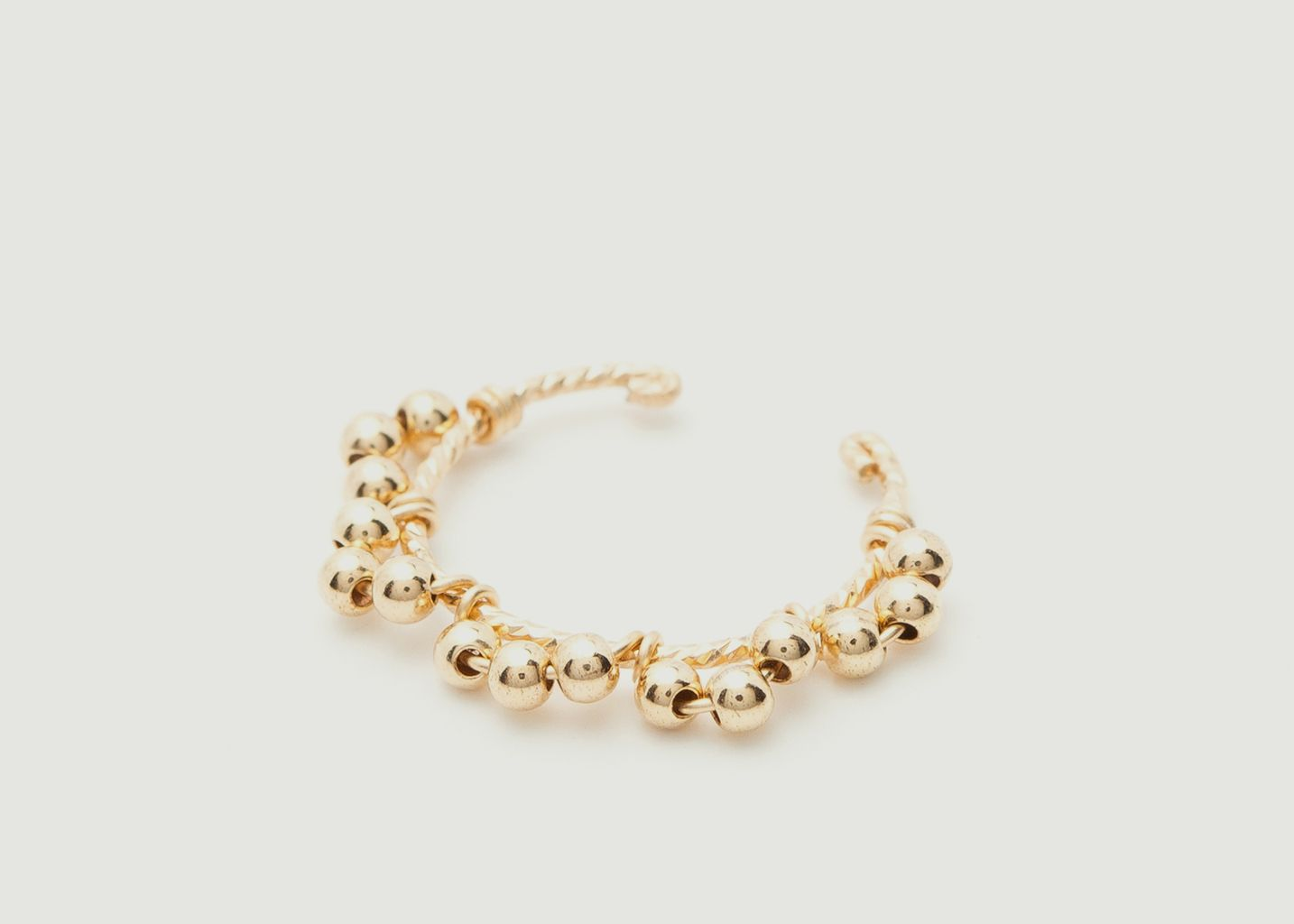 Faux piercing gold filled perles Dentelle Simple - YAY
